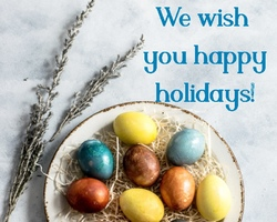 Happy Holidays to all our friends and partners